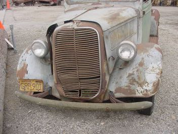 Old Bleu   1937 Ford Pickup Truck